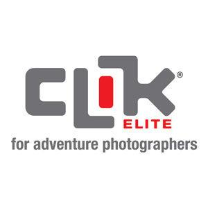 simple clik logo with tagline