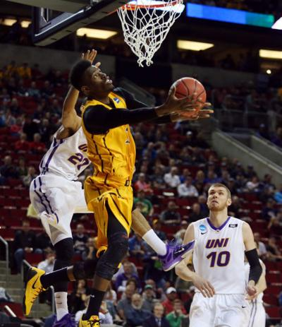 Wyoming - Northern Iowa NCAA Tournament Derek Cooke Jr.