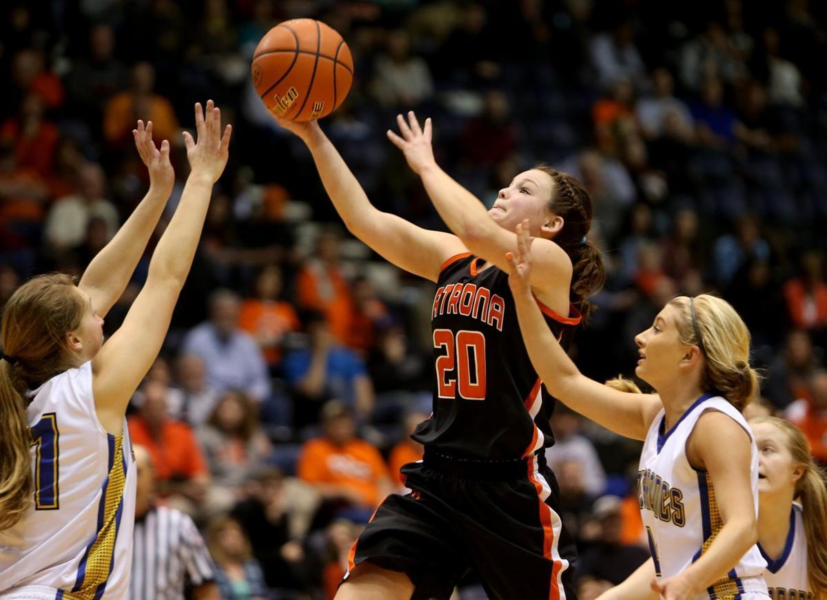 Hesston girls basketball practice picture — photo 12