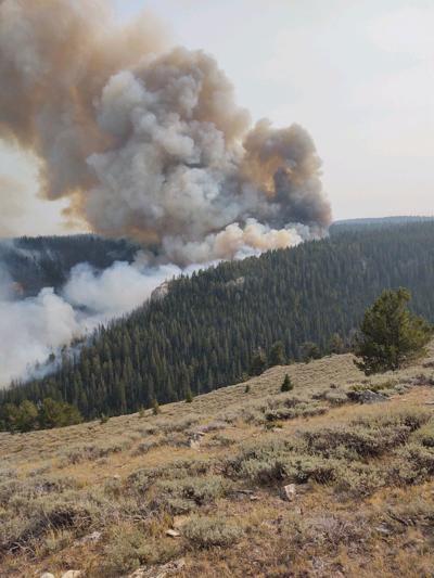 Crater Ridge Fire