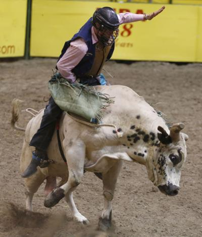 Southern Arkansas Bull Rider Tyler Lewis Goes In Blind