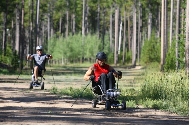 Paralympic Biathletes Train on Casper Mountain