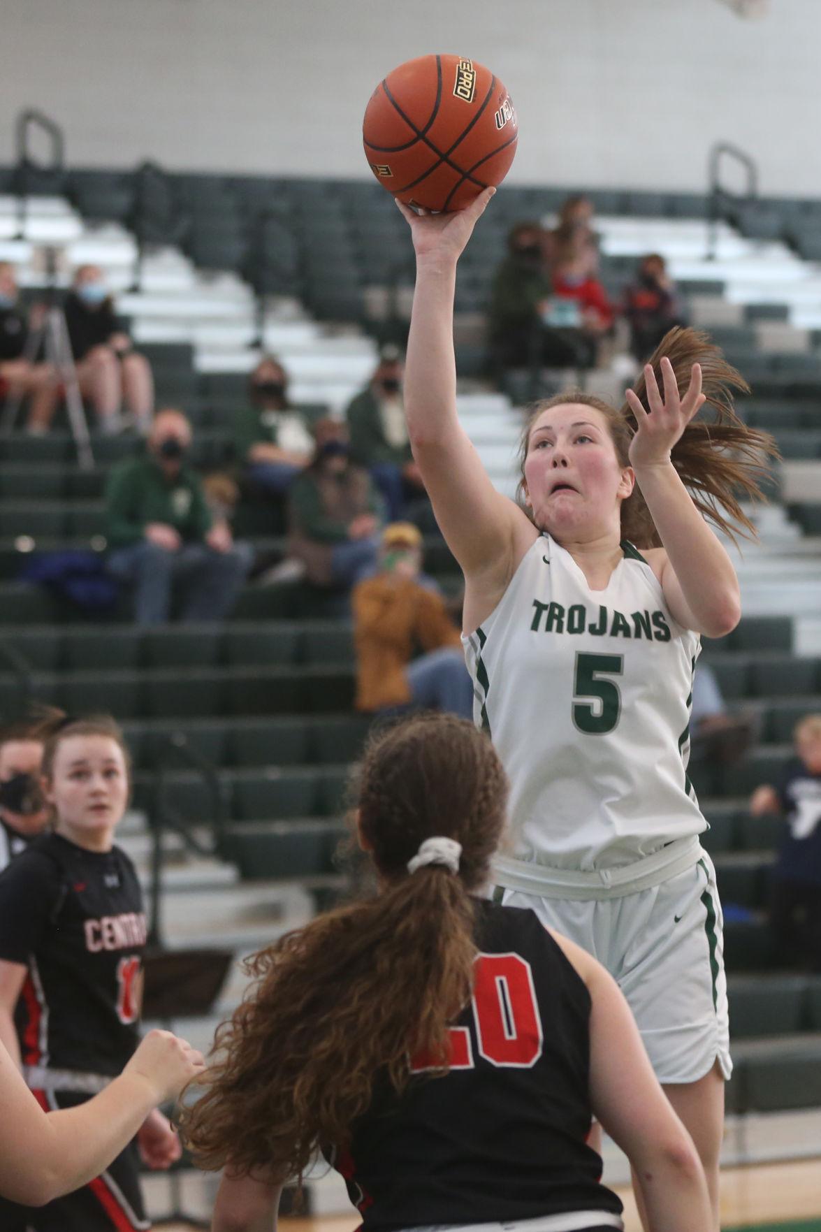 Kelly Walsh v. Central girls  basketball