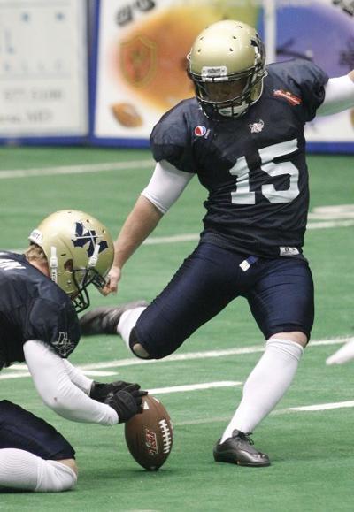 Cavalry Kicker Travis Atter