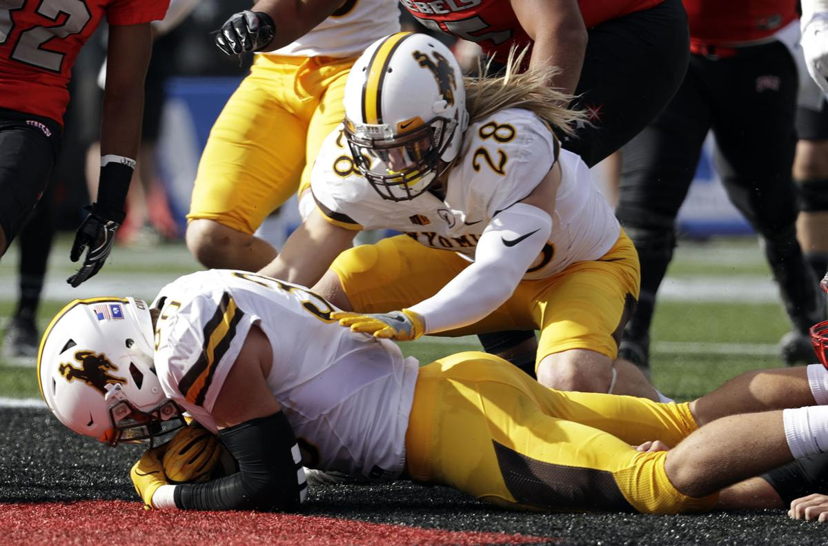 Wyoming UNLV Football touchdown