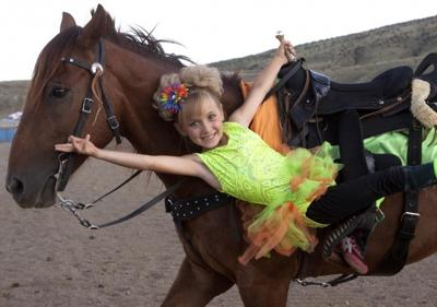 Kid Trick Riders A Treat For Wyoming Rodeo Crowd Wyoming