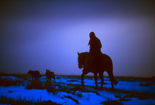 Peruvian herder spends Wyoming winter alone