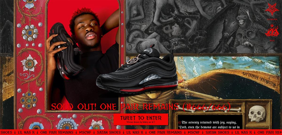 Nike sues the maker of Lil Nas X 'Satan Shoes' for trademark infringement