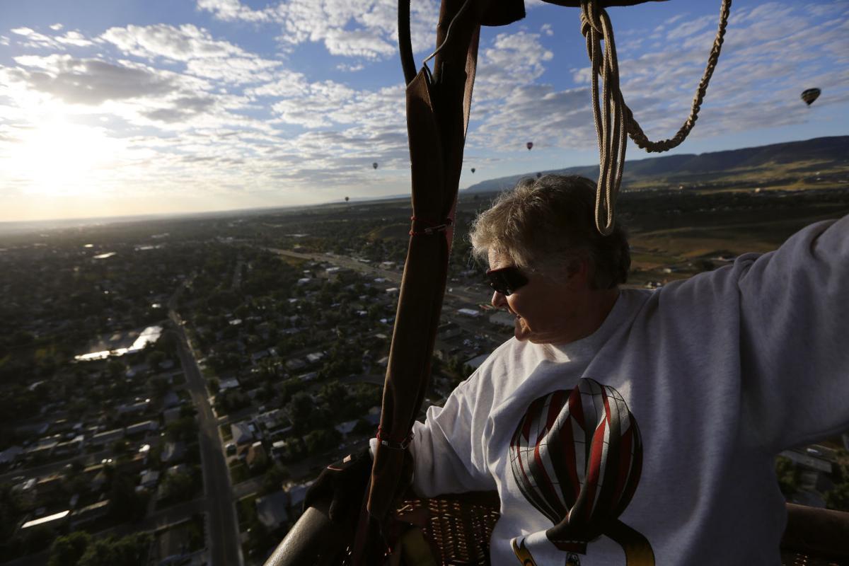 The world from above: Hot air balloon fans float over Casper ...