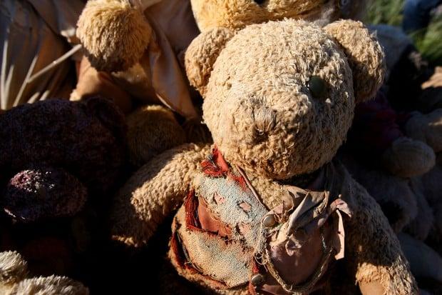 Teddy Bear Corner near Kemmerer