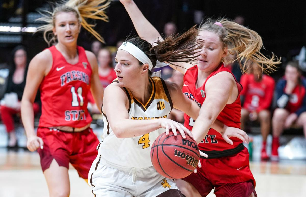 NCAA Women's Basketball: Wyoming vs Fresno State