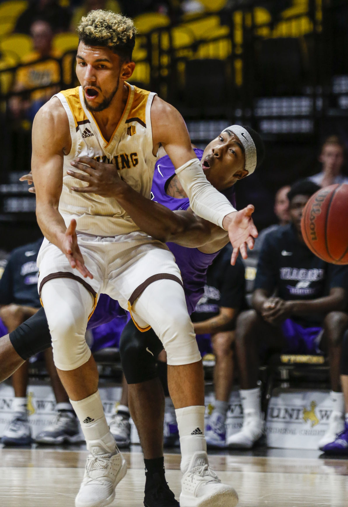 Wyoming's Hunter Maldonado back in the fold after injuries