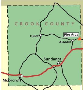 Wildfire Burns In Northeast Wyoming News Trib Com
