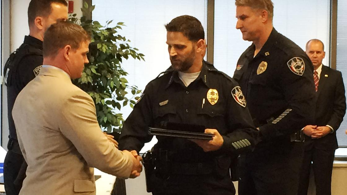 Casper Police Award Officers Citizens For Hard Work