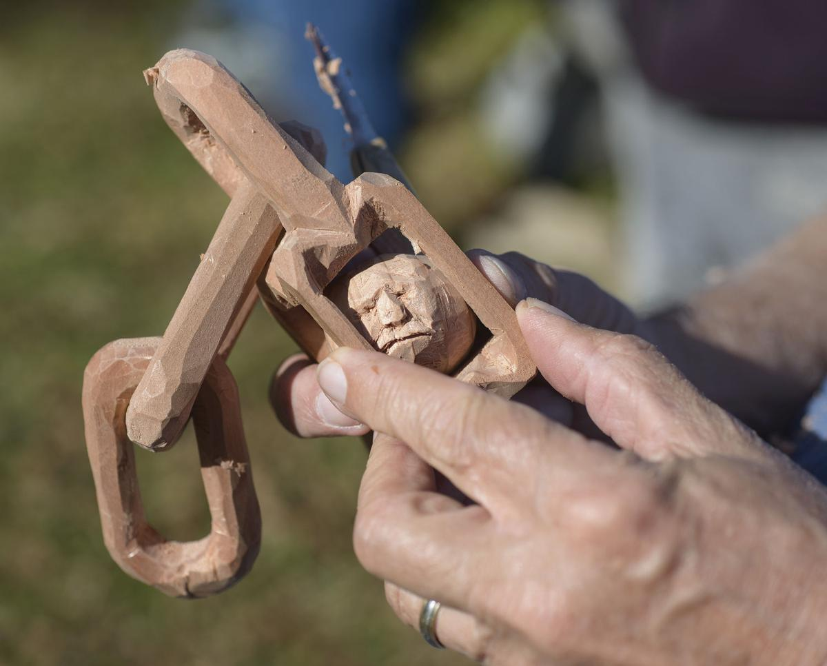 Woodcarving Therapy-Veterans