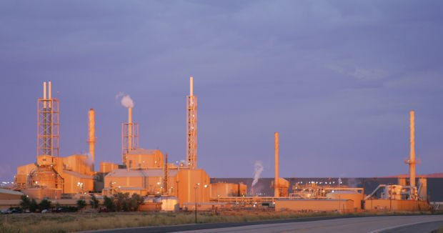 Simplot fertilizer plant