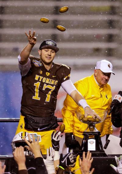 hot sales aafb2 172d8 Wyoming quarterback Josh Allen declares for NFL Draft ...