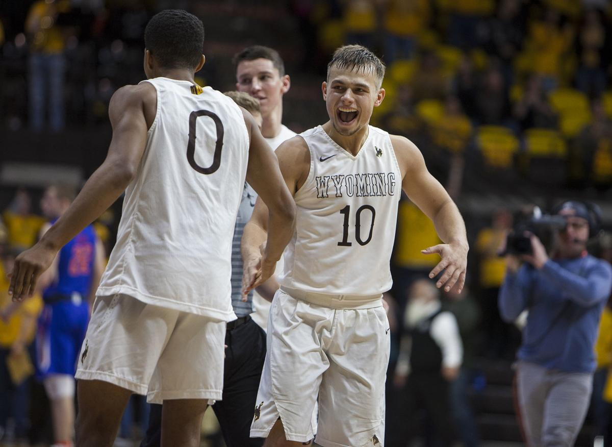Wyoming vs Boise State Basketball