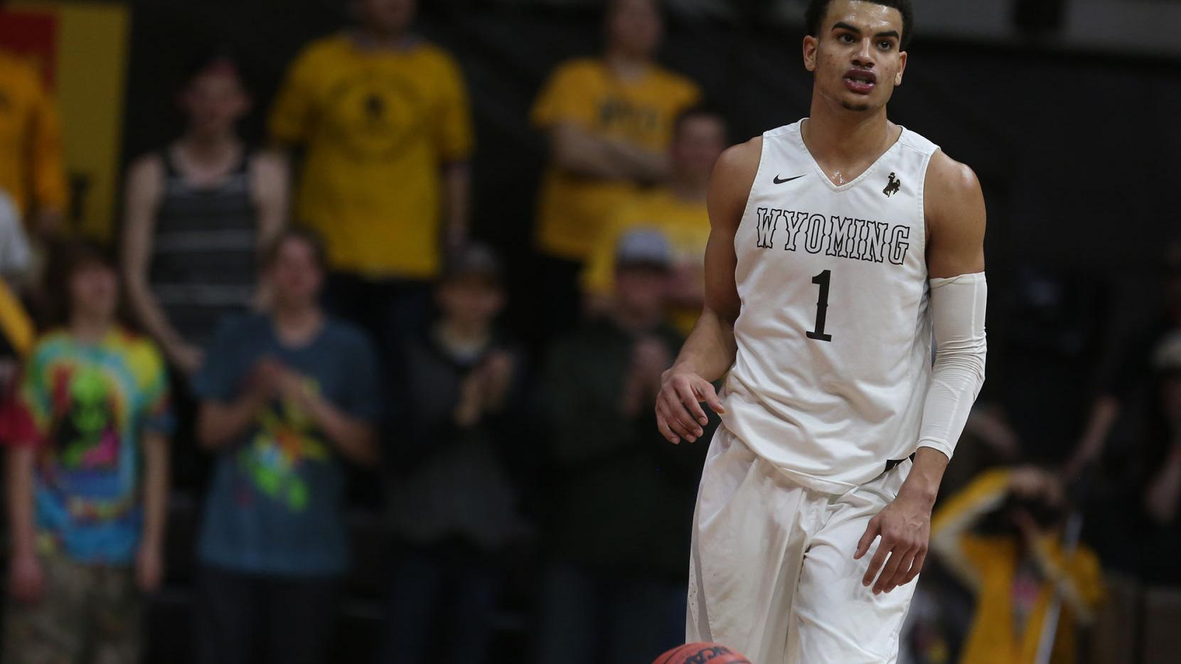 Wyoming men's basketball knocks off No. 23 Nevada in double overtime