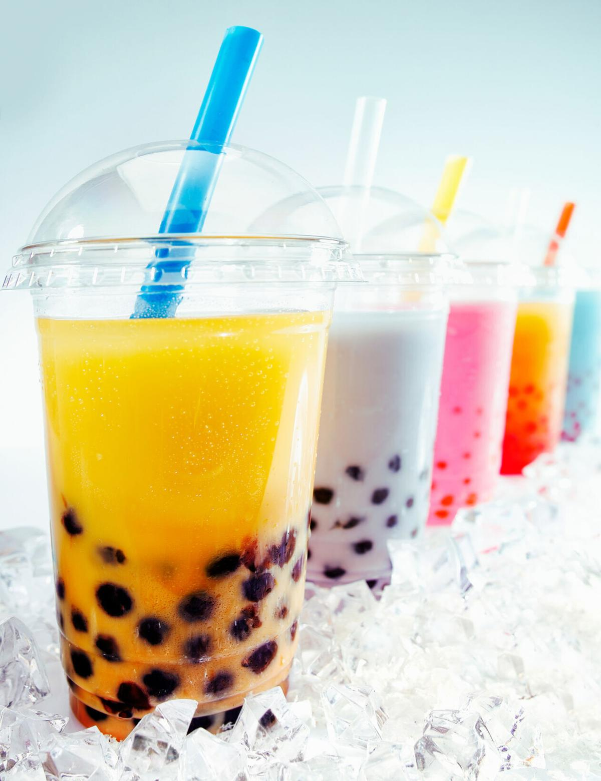 Boba, also known as bubble tea, originated in Taiwan in the 1980 s and arrived in the U.S. a decade later.