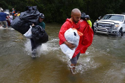 Harvey repeats devastation back on shore in Texas, Louisiana