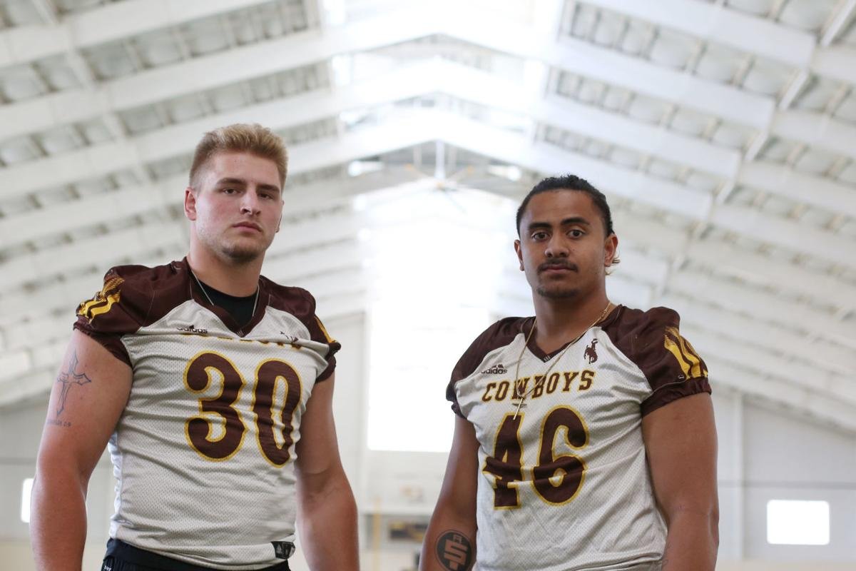 UM Media Day Portraits: Wilson and Maluia