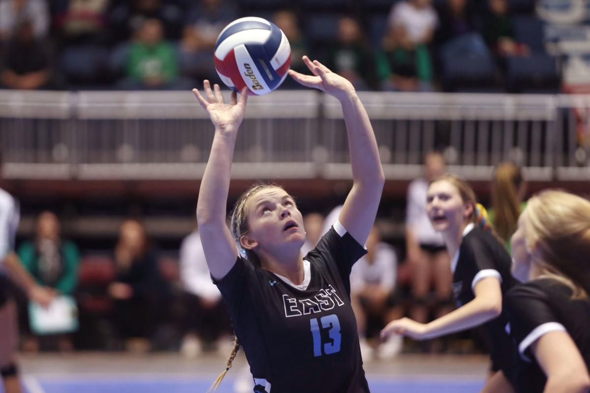 State Volleyball cheyenne east