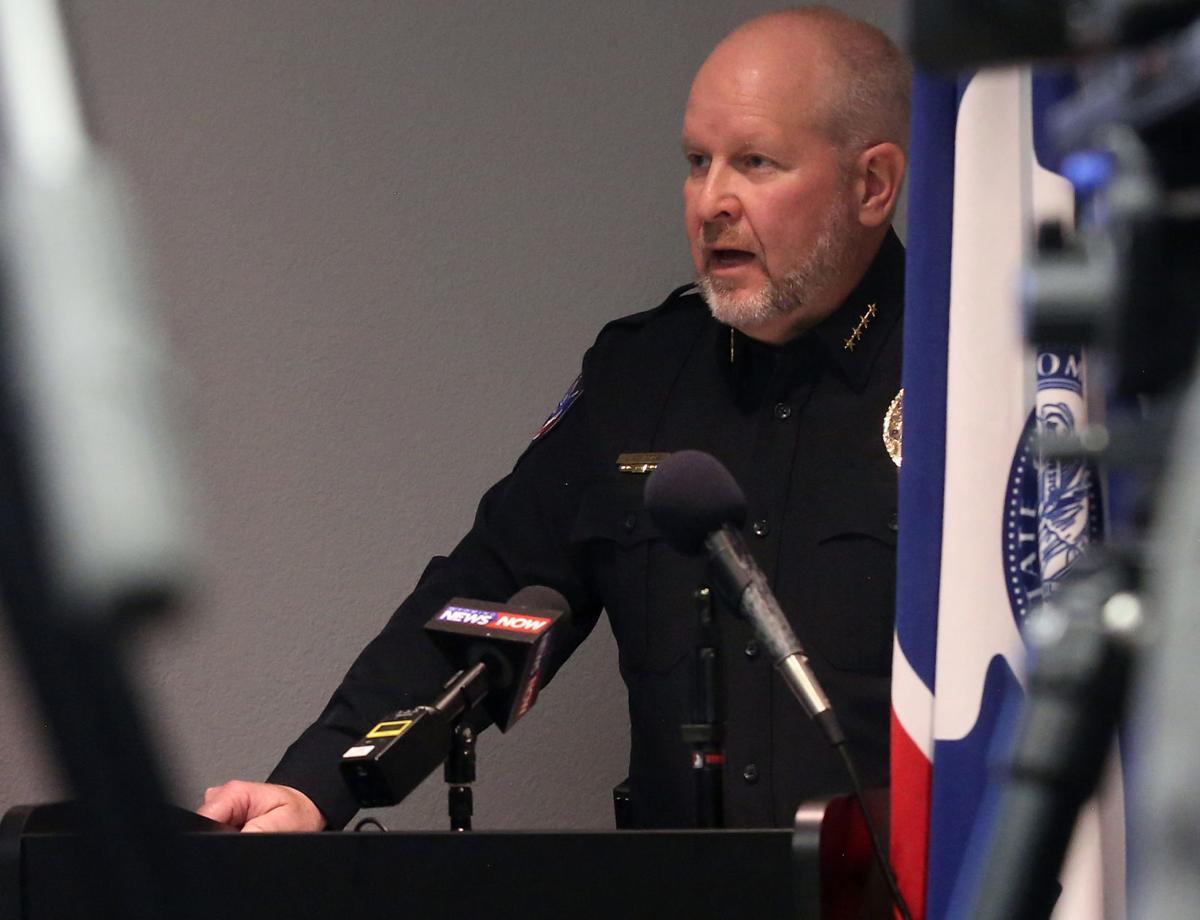 Casper Police Department press conference