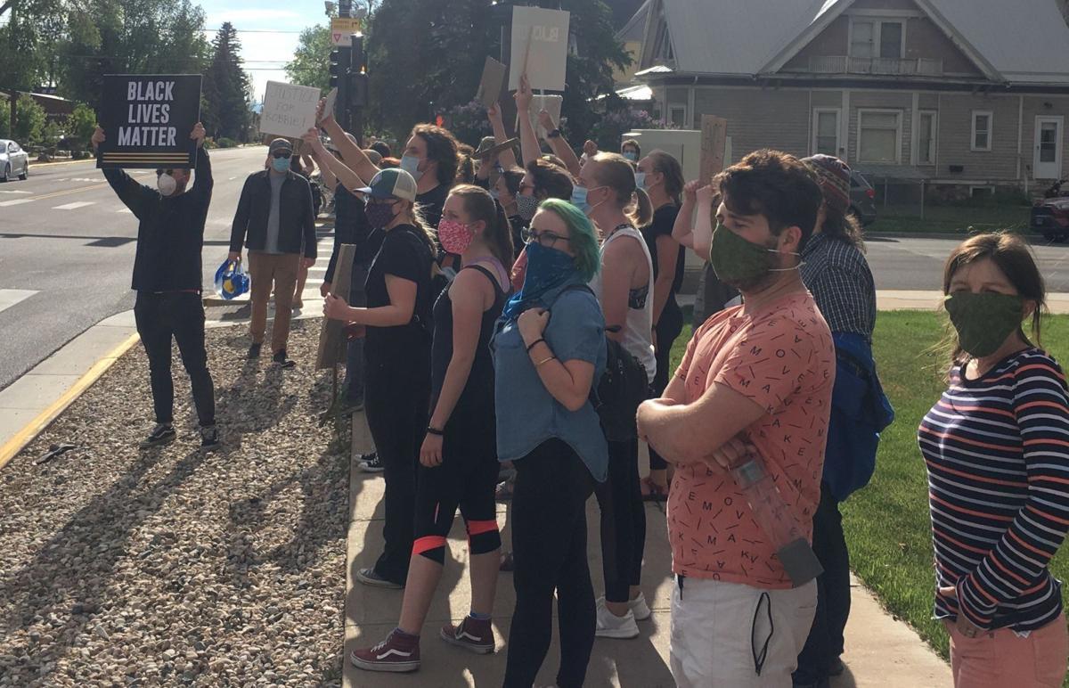 Laramie protest