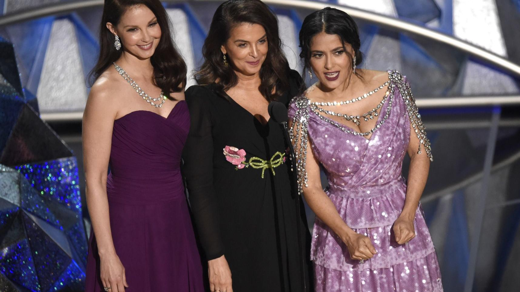 Oscar moments: A whiff of change, of many kinds, at post-Weinstein Academy Awards