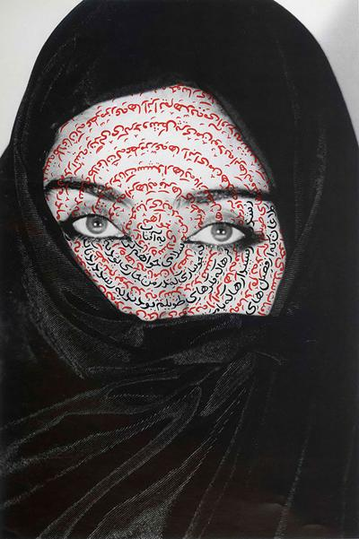 """""""I Am Its Secret"""" by Shirin Neshat in exhibition UW Art Museum's """"New Acquisitions: The Art Museum Collection"""""""