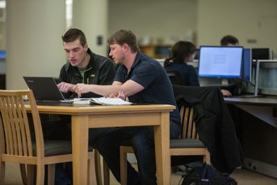 University of Wyoming students