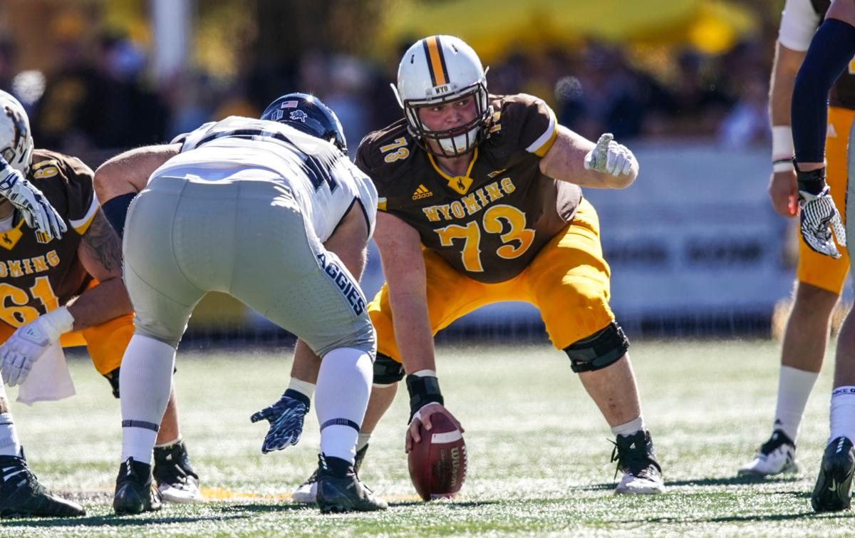NCAA Football: Wyoming vs Utah State