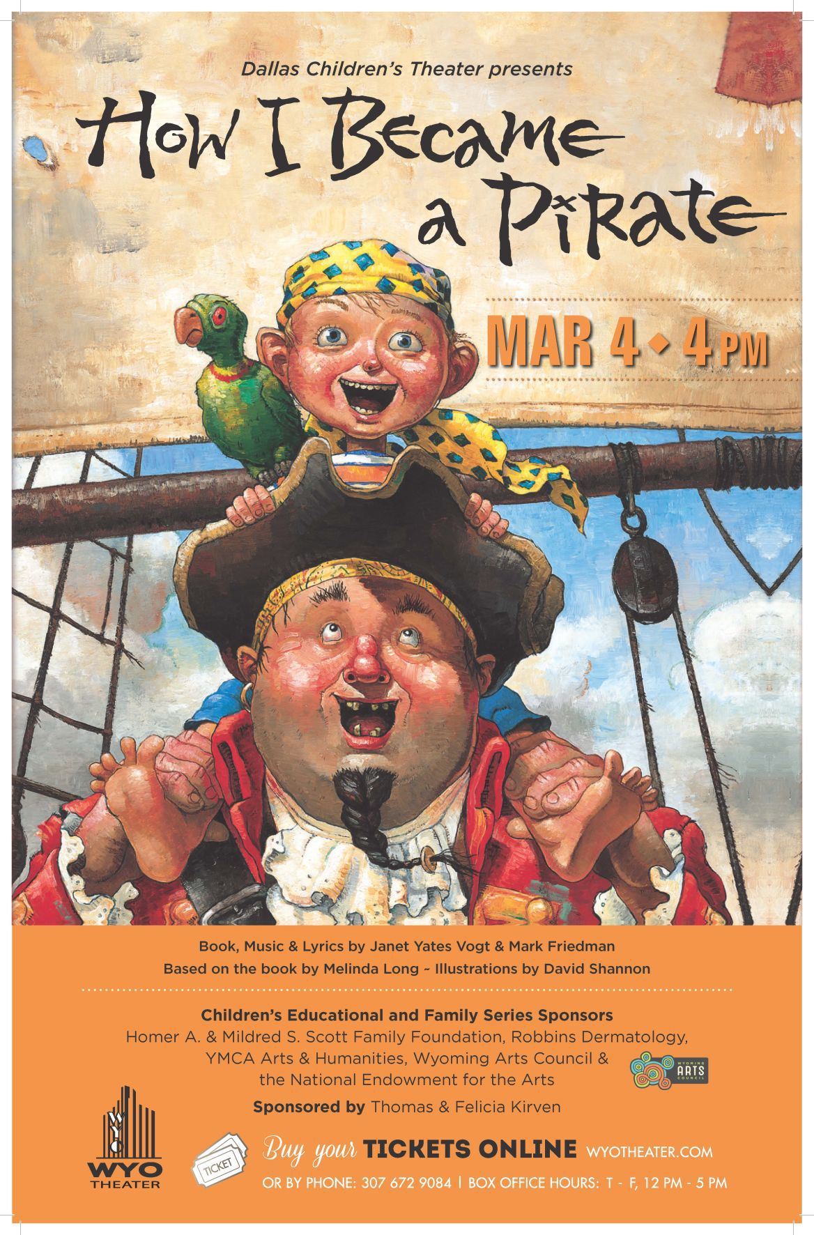 Pirate lessons at WYO Theater