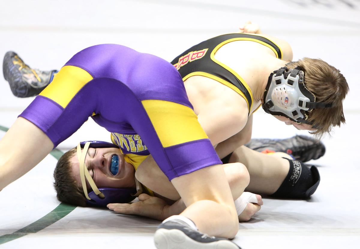 2017 Wyoming State Wrestling, Friday