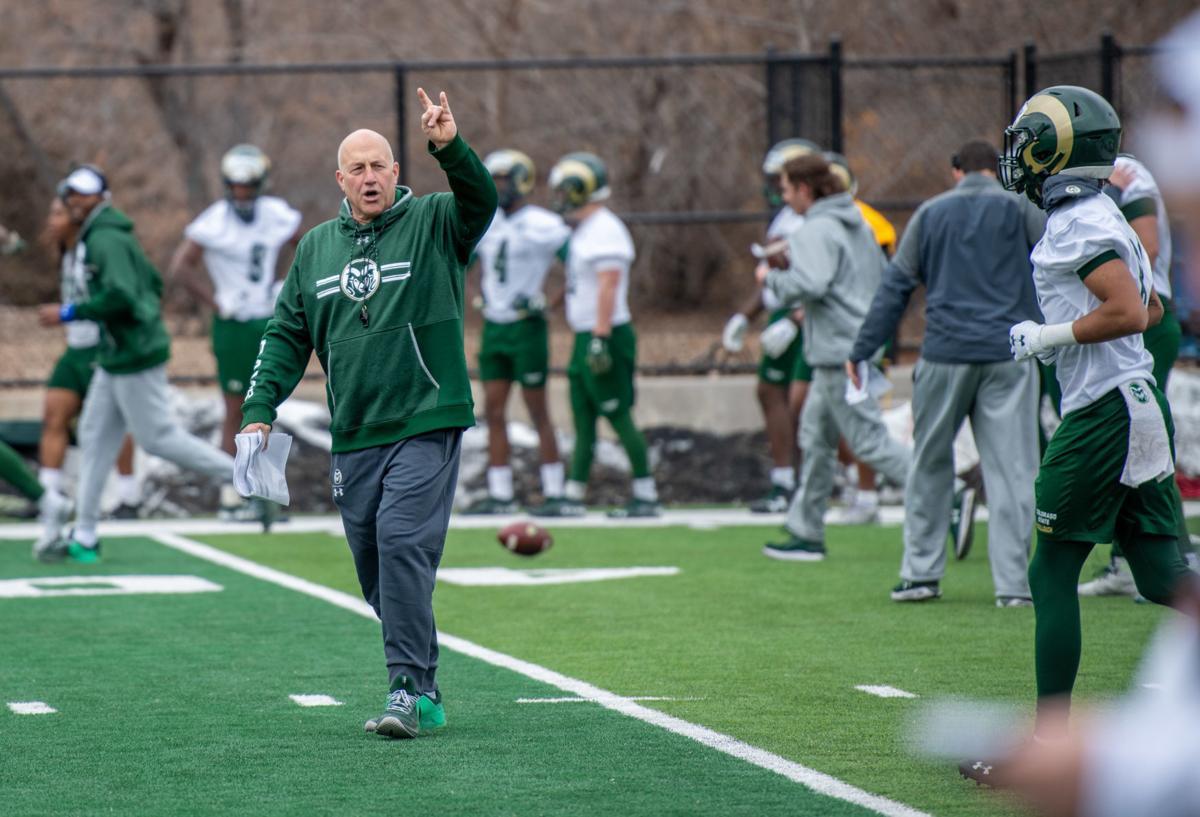 CSU coach Steve Addazio