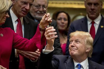 Trump, Cheney, Zinke and Barrasso