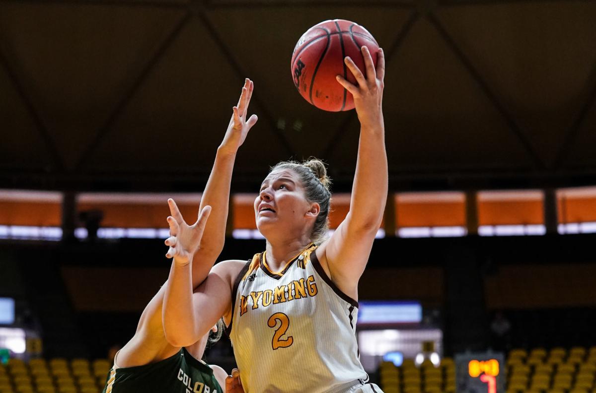 NCAA Women's Basketball: Wyoming vs Colorado State