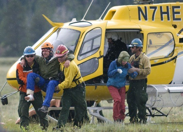 A Year After Daring Rescue, Teton Lightning Incident