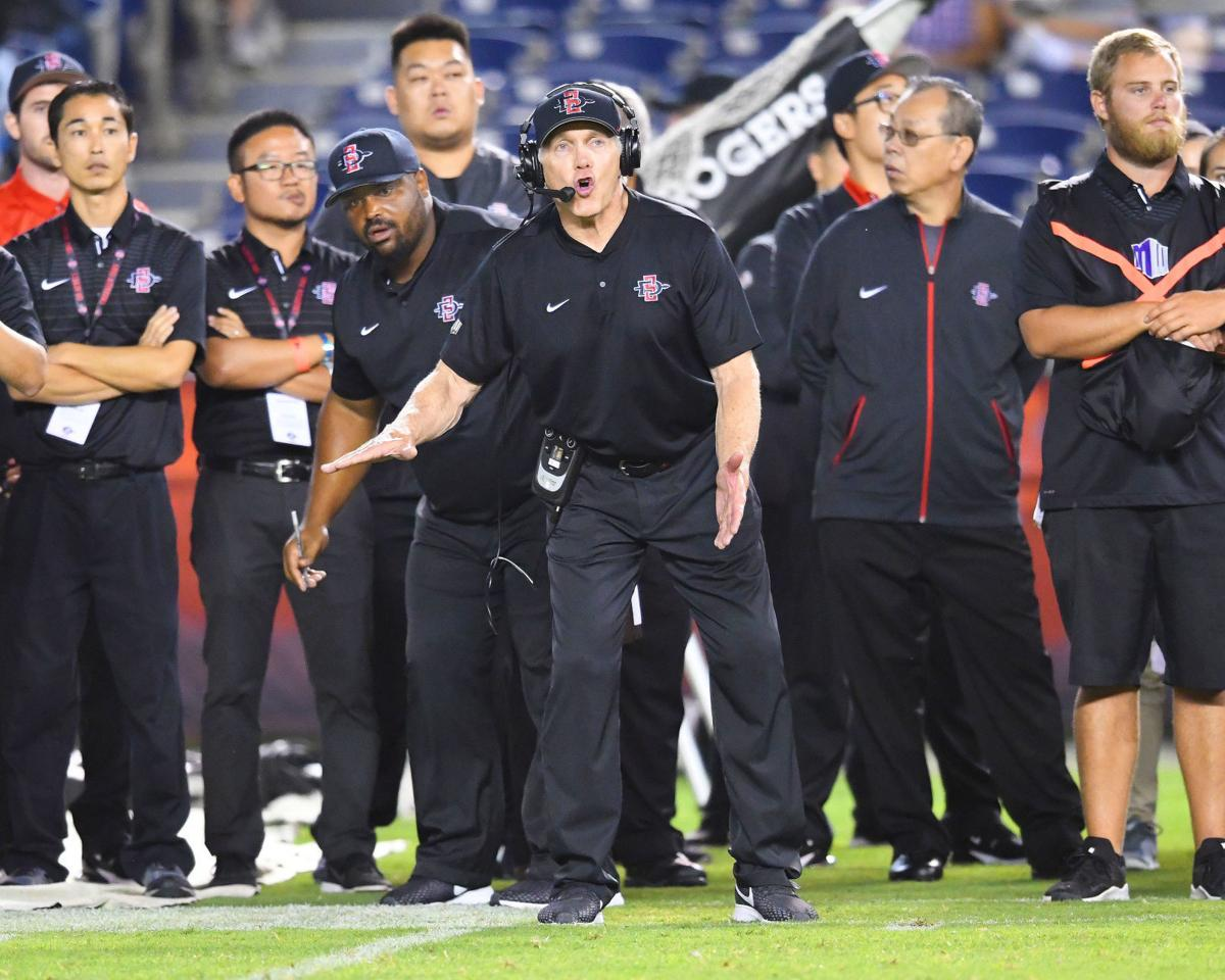 SDSU coach Rocky Long