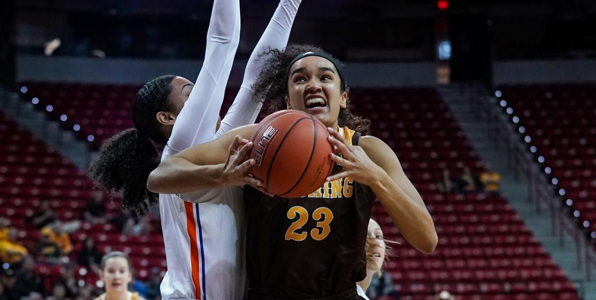 NCAA Women's Basketball: Wyoming vs Boise State Mountain West Tournament 2019:Championship: