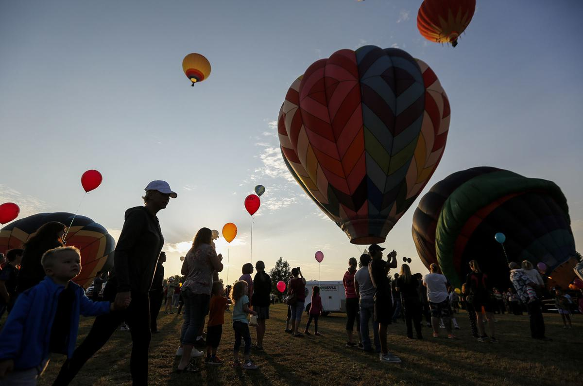 Celebrating First Flights At The Casper Balloon Roundup