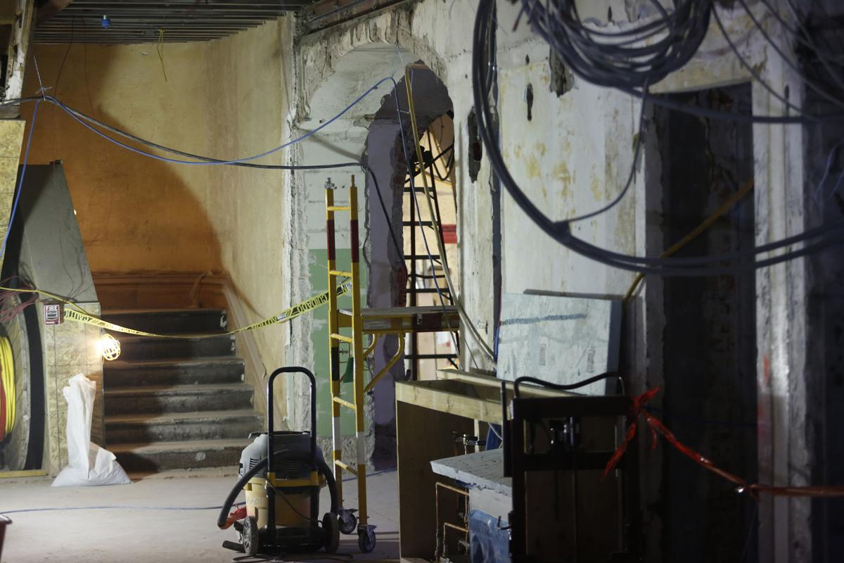 Photos A Look Inside The Almost Restored Wyoming State Capitol Wiring Vault 88 Building News