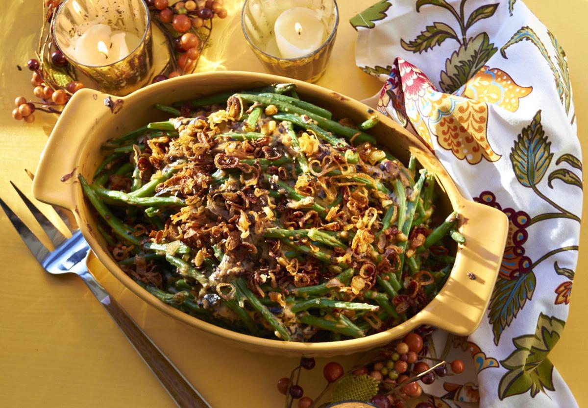 Food Deadline Modern Green Bean Casserole