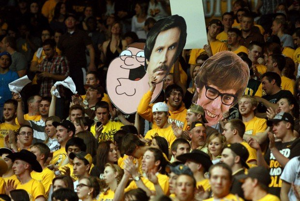 Wyoming Basketball Fans