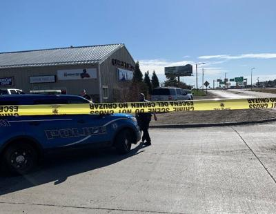 Officers investigate police shooting