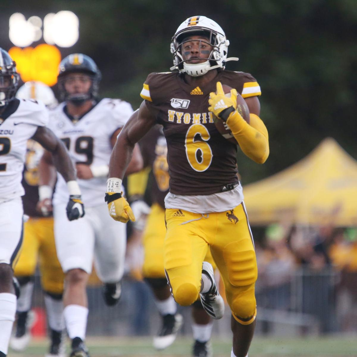 reputable site d8820 1f482 Wyoming stuns Missouri for first Power Five win of Craig ...