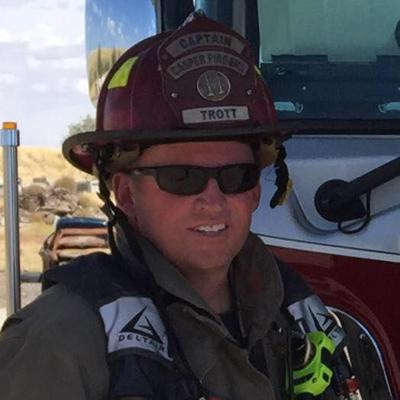 Casper Fire-EMS Captain Matt Trott