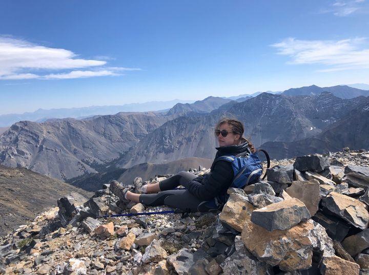 Tatum Morell on a hike