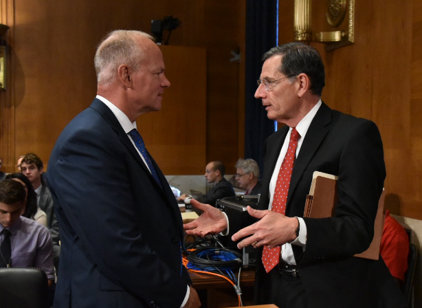 Mead and Barrasso